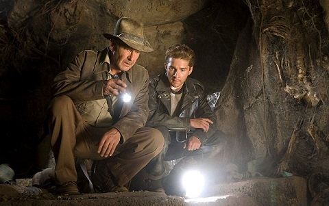 """10- Harrison Ford – """"Indiana Jones and the Kingdom of the Crystal Skull"""""""
